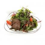 Салат с телятиной и грибами